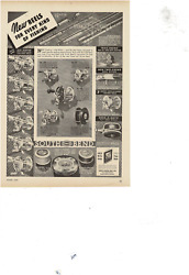 Jun 1937 South Bend Fishing Rods Reels Lines All Kinds Of Fishing Ad Print E653