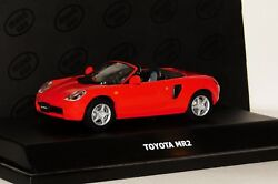 Toyota Mr2 Red Roadster Maxi Car 10043 143