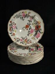 Spode Copelands China England Windermere Luncheon Plates - Eight