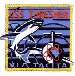 2.875 Uss Navy Ssn-593 Thresher Embroidered Patch