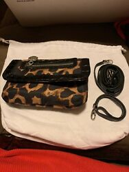 Brighton New Tiger Print Purse crossbody For Only $50 $39.00