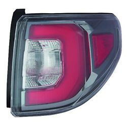 Aftermarket Replacement Passenger Side Outer Tail Light Assembly NSF 166-2588