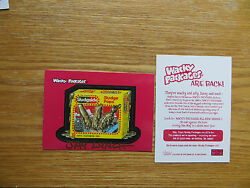 2004 WACKY PACKAGES ANS1 1ST SERIES SLUDGSICLE PROMO CARD SIGNED JAY LYNCH ART