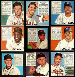 Red Man Tobacco  1952 Red Man Baseball Partial Complete Set EX