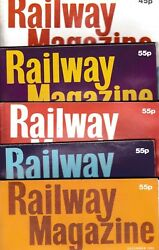 Various Issues Of Railway Magazine From January 1964 To December 1982