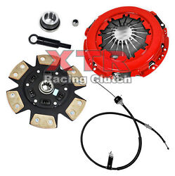 XTR STAGE 3 CLUTCH KIT w CABLE 83-86 FORD THUNDERBIRD MUSTANG SVO 2.3L T