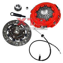 XTR STAGE 1 CLUTCH KIT w CABLE 83-86 FORD THUNDERBIRD MUSTANG SVO 2.3L TURBO NT
