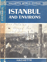1961 Istanbul Turkey Guide With Maps And Prints Illustrated Gift Idea