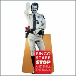 Ringo Starr 1981 Boardwalk Records Stop And Smell The Roses Large Promo Display