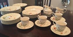 Vintage Mikasa Margaux 32 Pc. China Includes 4 5pc. Place Settings Plus More