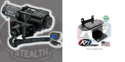 Kfi 2500 Lb Stealth Winch And Mount Kit Yamaha Grizzly Rhino 450 660 700