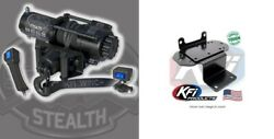 Kfi 3500 Lb Stealth Winch And Mount Kit Yamaha Grizzly Rhino 450 660 700
