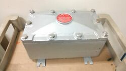 Crouse-hindes Ejb9166 Cast Iron Junction Box For Hazardous Locations 9 X 16 X 6