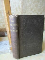 The GARDEN Of The WORLD,Great West,Guide for Emigrants,1856,Sam HOUSTON,1st ED