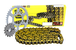 Triple-s Gold O-ring Chain Sprocket Kit Hyosung Gt650 / R / S Comet / Fi 04-10