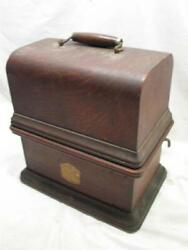 Antique Columbia Graphophone Model Bk Cylinder Player Phonograph