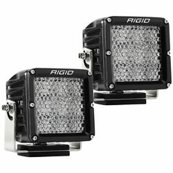 Rigid Industries 322313 Black D-xl Series Led Diffused Flood Light - Pair