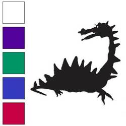 Dragon Spikes Lizard Decal Sticker Choose Color + Large Size Lg235