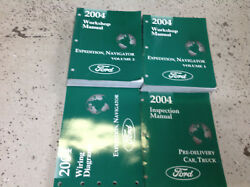 2004 FORD EXPEDITION & LINCOLN NAVIGATOR Shop Repair Service Manual Set W EWD +
