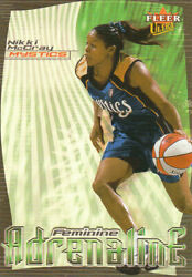 2000 Ultra Wnba Basketball Part 2 Autograph Insert And Parallel Cards