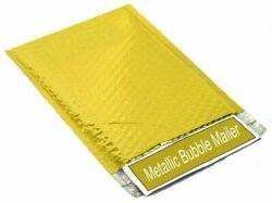 Gold Metallic Bubble Mailers 13.75 X 11 Padded Mailing Envelopes 500 Pieces