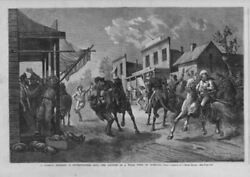 Cowboys Horses Guns Capture A Texas Town A Common Incident In Southwestern Life