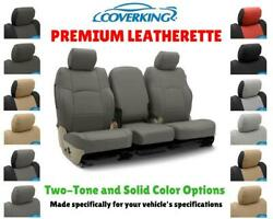 PREMIUM LEATHERETTE CUSTOM FIT SEAT COVERS for CHEVY MALIBU