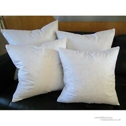 Euro Square Pillow Insert FEATHER DOWN for Shams ALL SIZES Rectangle too