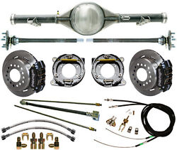 Currie 73-87 Chevy C10 5-lug Truck Drop Rear End And Wilwood Disc Brakescalipers
