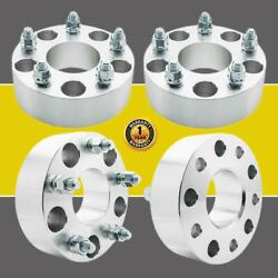 4pcs 2 Wheel Spacers 5x5 5x127mm 1/2 X 20 Adapters For Jeep Grand Cherokee