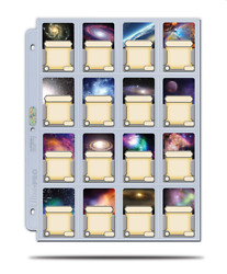 100 Ultra Pro 16-pocket Album Pages Mini American Board Game Size 41mm X 63mm