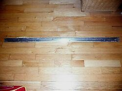 1957-1958 Ranchero Right Side Upper Stainless Bed Molding