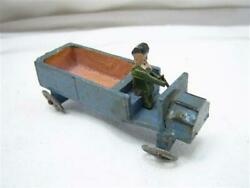 Antique German Delivery Truck Penny Toy Box Vehicle Wood/tin
