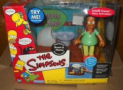2433 Nrfb Playmates Toys The Simpsons Bowl A Rama With Pin Pal Apu