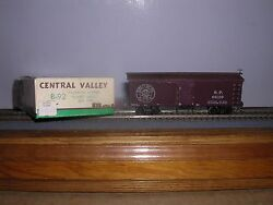 Central Valley B-92 S.p. Old Time 36' Truss-rod Box Car 66109 Blt-up H.o.1/87
