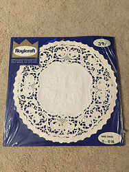 Roylies 15 10 Paper Doilies White Vintage Unopened
