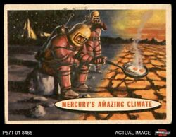 1957 Topps Space #77 Mercury's Amazing Climate  VGEX