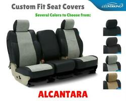 ALCANTARA SUEDE CUSTOM FIT SEAT COVERS for CHEVY MALIBU