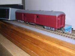 Brass N.j.custom Ps-702 P.r.r. Baggage Express Car Ptd. Not Lettered H.o. 1/87