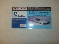 Lionel Trains No. 11846 Kal Kan Train Set - With 4 Very Collectable Box Cars