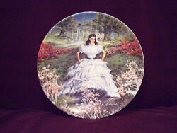 Scarlett Oand039hara Gone Withthe Wind - Collector Plate