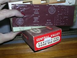 Central Valley B-92 S.p. Old Time 36' Truss-rod Box Car 66109 Kit H.o. 1/87