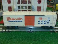 Lionel Trains Trainmaster Command Boxcar - Very Nice