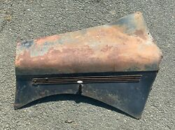 1950and039s Singer Drivers Side Bonnet