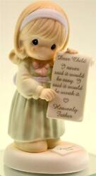 Precious Moments Girl Holding Letter From God 4004374 Nib