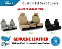 GENUINE LEATHER CUSTOM FIT SEAT COVERS for CHEVY MALIBU