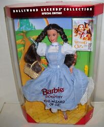 2540 Nrfb Mattel Hollywood Legends Barbie As Dorothy From The Wizard Of Oz