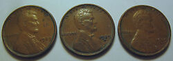 1929 Pds Early Date Lincoln Cent Coins Pennys 219v