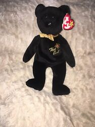 """Ty """"the End"""" Beanie Baby Rare With Errors Must See Very Rare 1999"""