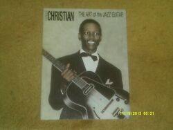 Charlie Christian Songbook The Art Of The Jazz Guitar '88 32 Pp. W/ Bio Vg+